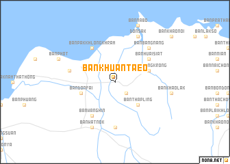 map of Ban Khuan Taeo