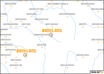 map of Ban Klang
