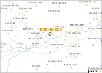 map of Ban Kok Kok