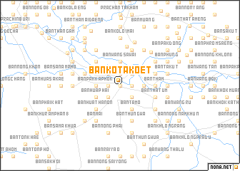 map of Ban Ko Ta Koet