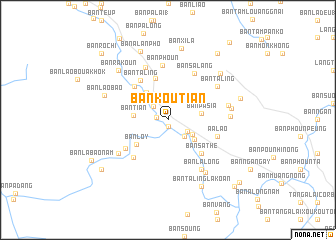 map of Ban Koutian