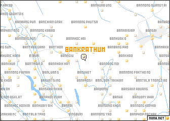 map of Ban Krathum