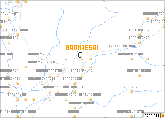 map of Ban Mae Sai