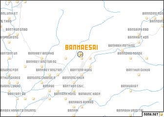 map of Ban Mae Sai