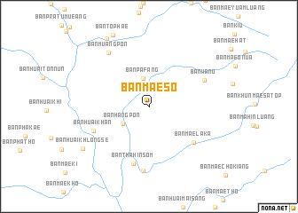 map of Ban Mae So
