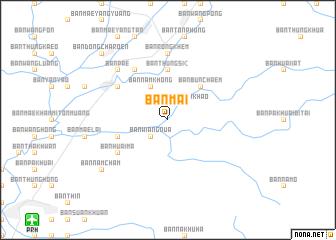 map of Ban Mai