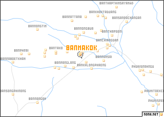 map of Ban Makok