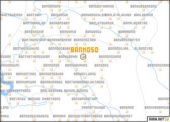 map of Ban Mo So