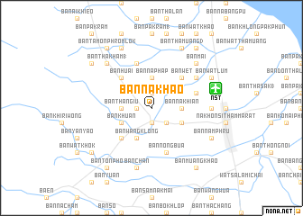 map of Ban Na Khao
