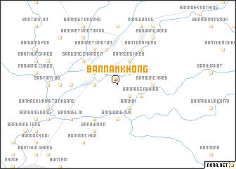 map of Ban Nam Khong