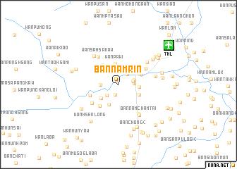 map of Ban Nam Rin