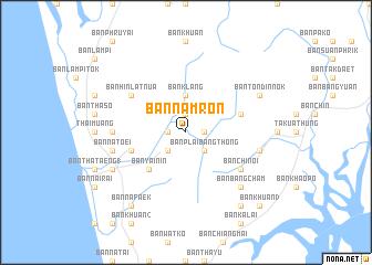 map of Ban Nam Ron