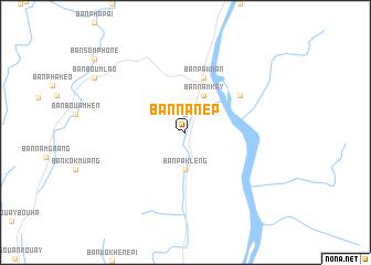Ban Na Nep Laos map nonanet