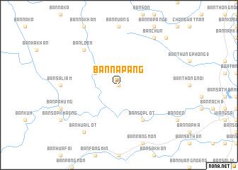 map of Ban Na Pang