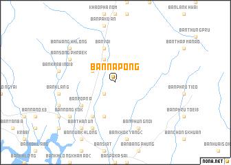 map of Ban Na Pong