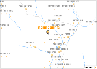 map of Ban Na Pong