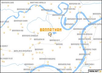 Ban Natham Laos map nonanet