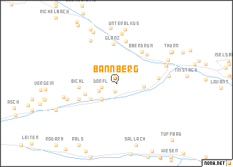 map of Bannberg