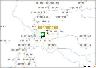 map of Ban Nong Bo