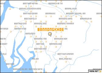 Ban Nong Khae (Thailand) map - nona.net