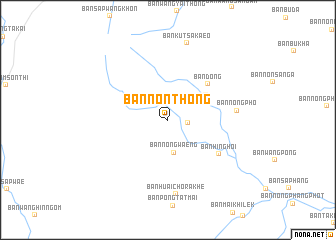 map of Ban Non Thong