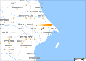 map of Ban Nua Nam