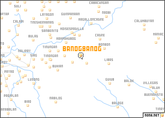 map of Banogbanog