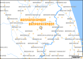 map of Ban Pa Rakam Bon