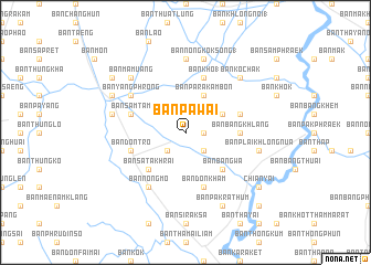 map of Ban Pa Wai