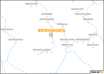 map of Ban Phahuang