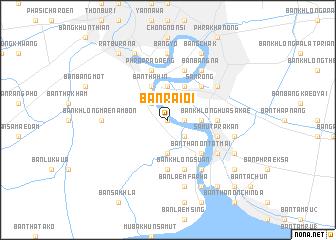 map of Ban Rai Oi