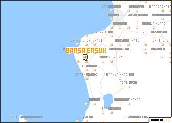 Ban Saen Suk Thailand map nonanet