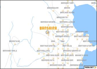 map of Ban Sai Ra