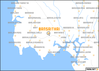 map of Ban Sai Thai
