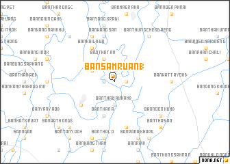 Phitsanulok Thailand Map.Ban Sam Ruan 1 Thailand Map Nona Net