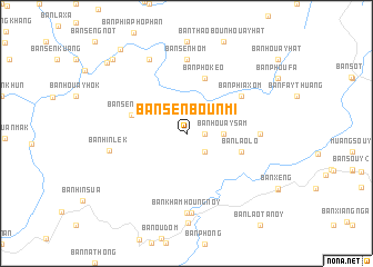 map of Ban Sènbounmi