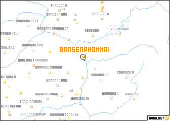 map of Ban Sènphôm-Mai