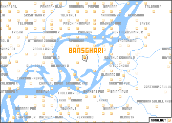 map of Bānsghari
