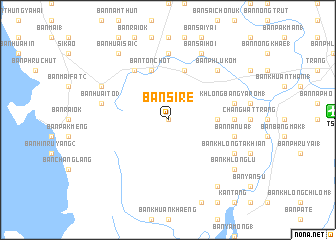 map of Ban Si-re