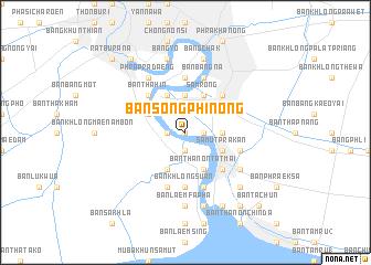 map of Ban Song Phi Nong