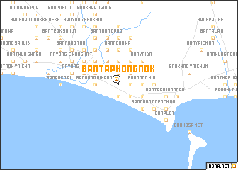 map of Ban Taphong Nok