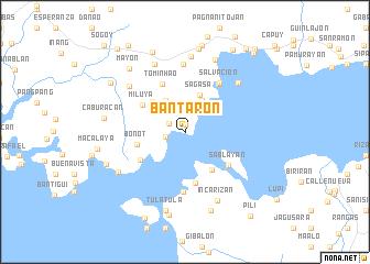 map of Bantaron