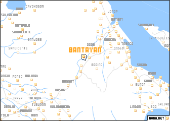 map of Bantayan
