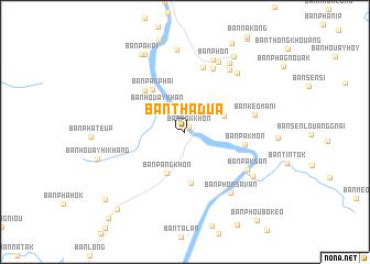 Ban Thadua Laos map nonanet