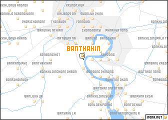 map of Ban Tha Hin