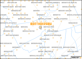 map of Ban Tha Krabu