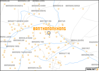 map of Ban Thanon Khong