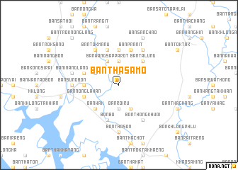 map of Ban Tha Samo