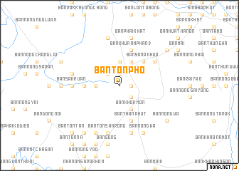 map of Ban Ton Pho