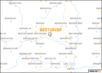 map of Ban Tup Kop